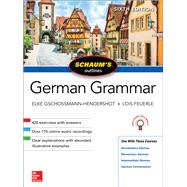 Schaum's Outline of German...,Gschossmann-Hendershot, Elke;...,9781260120998