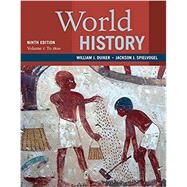 World History, Volume 1: To...,Duiker, William J.;...,9781337401050