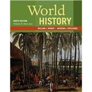 World History, Volume II:...,Duiker, William J.;...,9781337401067