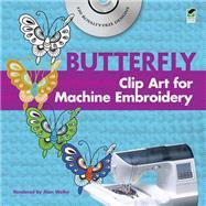 Chinese Butterfly Clip Art...,Weller, Alan,9780486991122