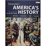 Henretta's America's History...,Edwards, Rebecca; Hinderaker,...,9781319281151