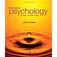 Essentials of Psychology...,Nevid, Jeffrey S.,9781285751221
