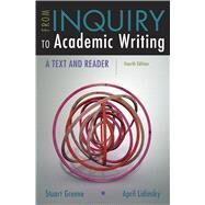 From Inquiry to Academic...,Greene, Stuart; Lidinsky,...,9781319071233