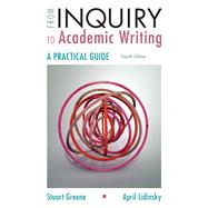 From Inquiry to Academic...,Greene, Stuart; Lidinsky,...,9781319071240