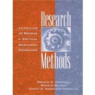 Research Methods : Learning...,Martella, Ronald C.; Nelson,...,9780205271252