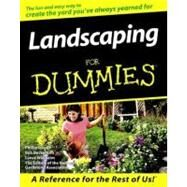Landscaping For Dummies,Unknown,9780764551284