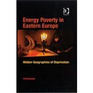 Energy Poverty in Eastern Europe: Hidden Geographies of Deprivation by Buzar,Stefan, 9780754671305
