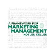 Framework for Marketing...,Kotler, Philip; Keller, Kevin...,9780133871319