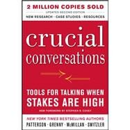 Crucial Conversations Tools...,Patterson, Kerry; Grenny,...,9780071771320