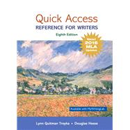 Quick Access Reference for...,Troyka, Lynn Quitman; Hesse,...,9780134701325