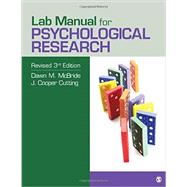 Psychological Research by Mcbride, Dawn M.; Cutting, J. Cooper, 9781506311340