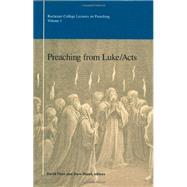 Preaching from Luke/Acts,Fleer, David; Blan, Dave;...,9780891121350