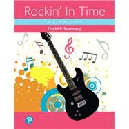 Rockin' In Time, Books a la...,Szatmary, David P.,9780134791357