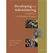Developing and Administering...,Sciarra, Dorothy June;...,9781428361379