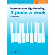 Improve Your Sight-Reading! a Piece a Week by Harris, Paul (COP), 9780571541430