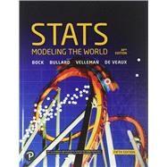 Stats: Modeling the World (NASTA) by Bullard & Velleman, 9780134761435