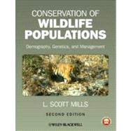 Conservation of Wildlife...,Mills, L. Scott,9780470671498