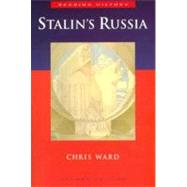 Stalin's Russia by Ward, Chris, 9780340731512