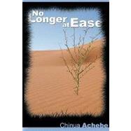 No Longer at Ease,Achebe, Chinua,9781607961529