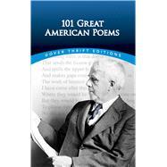 101 Great American Poems : An...,American Poetry & Literacy...,9780486401584