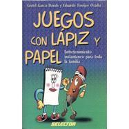 Juegos con lápiz y papel by GARCIA DAVIDS, GRETELTORRIJOZ OCADIZ, EDUARDO, 9789706431615