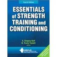 Essentials of Strength Training and Conditioning 4th Edition With Web Resource by NSCA -National Strength & Conditioning Association, 9781492501626
