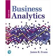 Business Analytics,Evans, James R.,9780135231678