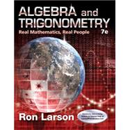 Algebra and Trigonometry Real...,Larson, Ron,9781305071735