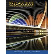 Precalculus Mathematics for...,Stewart, James; Redlin,...,9781305071759