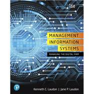 Management Information...,Laudon, Kenneth C.; Laudon,...,9780135191798