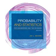 Probability and Statistics...,Devore, Jay L.,9781305251809