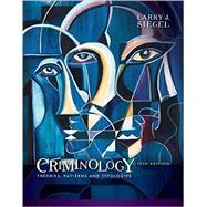 Criminology Theories,...,Siegel, Larry J.,9781337091848