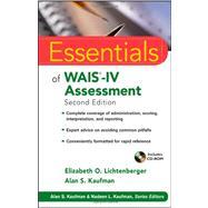 Essentials of WAIS-IV...,Lichtenberger, Elizabeth O.;...,9781118271889