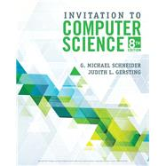 Invitation to Computer Science,Schneider, G.Michael;...,9781337561914