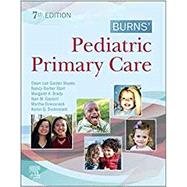 Burns' Pediatric Primary Care,Maaks, Dawn Lee Garzon,...,9780323581967