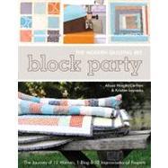 Block Party - The Modern...,Carlton, Alissa; Lejnieks,...,9781607051978