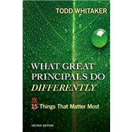 What Great Principals Do...,Whitaker, Todd,9781596672000