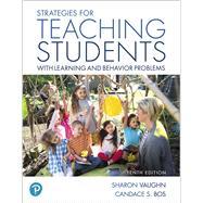Strategies for Teaching...,Vaughn, Sharon R.; Bos,...,9780134792019