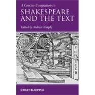 A Concise Companion to...,Murphy, Andrew R.,9781444332056