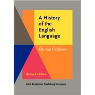 A History of the English...,Gelderen, Elly Van,9789027212092