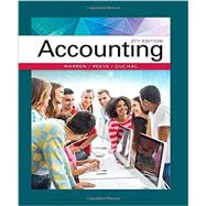 Accounting,Warren, Carl S.; Reeve, James...,9781337272094