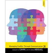Managing Conflict through...,Cahn, Dudley D.,9780205862139