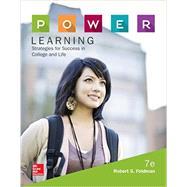 P.O.W.E.R. Learning:...,Feldman, Robert,9780077842154