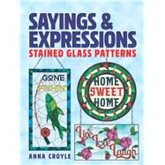 Sayings & Expressions by Croyle, Anna, 9780486842165
