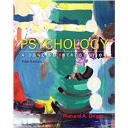 Psychology: A Concise...,Griggs, Richard A.,9781464192166