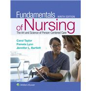 Fundamentals of Nursing The...,Taylor, Carol R.; Lynn,...,9781496362179