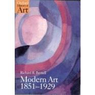 Modern Art 1851-1929 Capitalism and Representation by Brettell, Richard R., 9780192842206