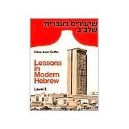 Lessons in Modern Hebrew...,Coffin, Edna Amir,9780472082261