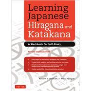 Learning Japanese Hiragana and Katakana by Henshall, Kenneth G.; Takagaki, Tetsuo, 9784805312278