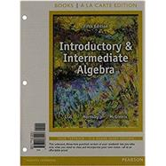Introductory & Intermediate...,Lial, Margaret L.; Hornsby,...,9780135192306